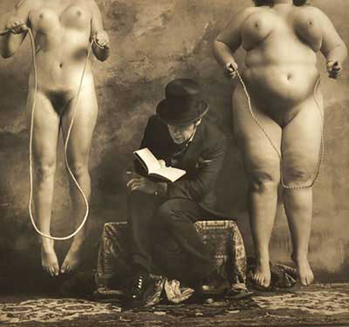 Jan-Saudek©-he-Reader-of-Dostoievsky-2000-1
