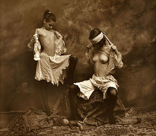 Jan-Saudek–-The-Comparison-1992