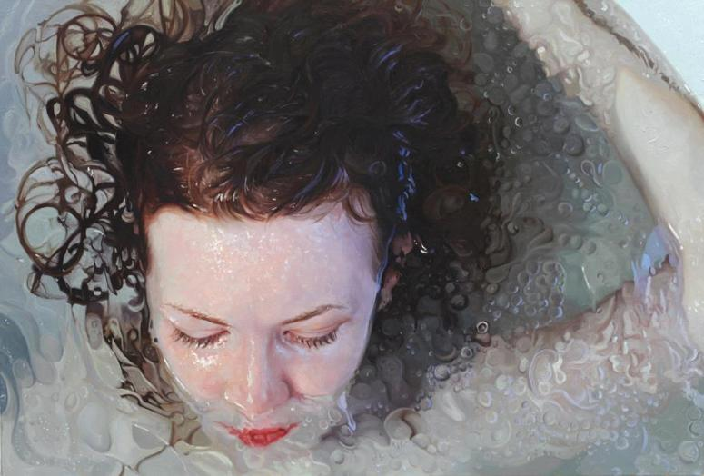 Pintura-realista-de-Alyssa-Monks