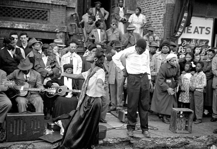 o que é o blues foto historica