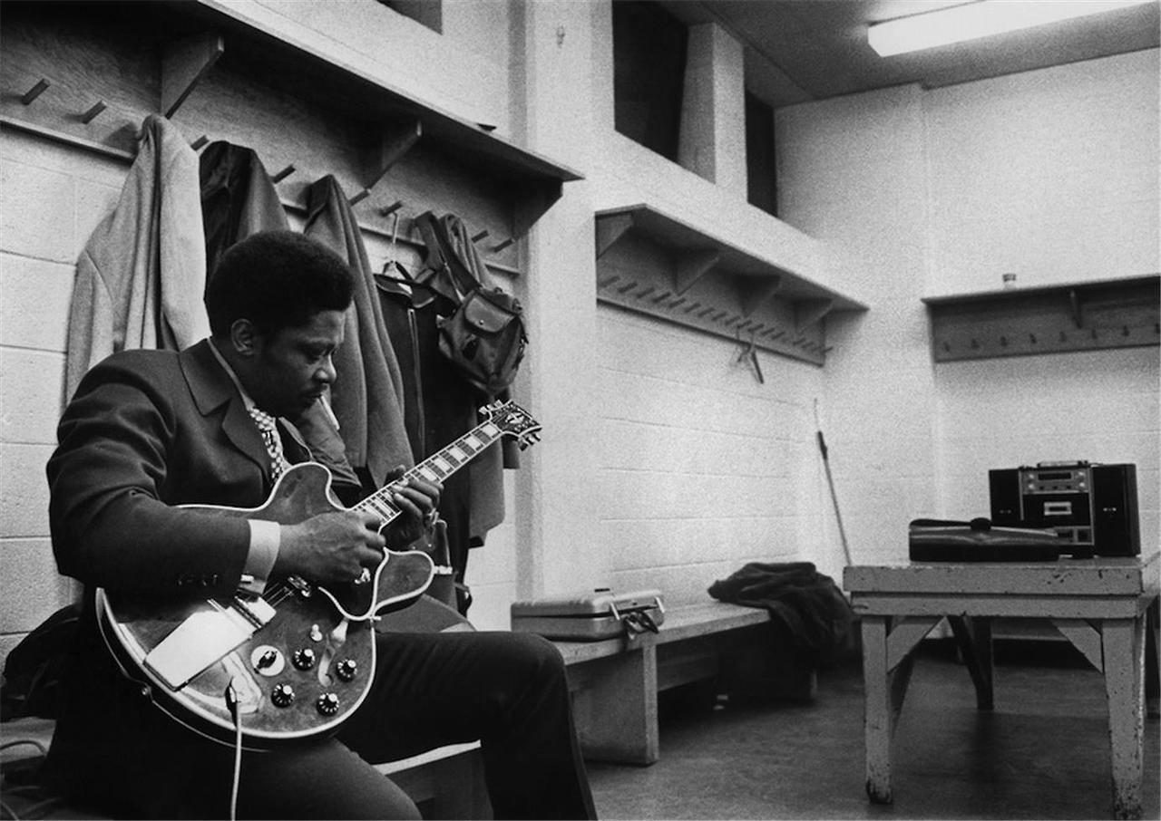 bb king e sua guitarra lucille