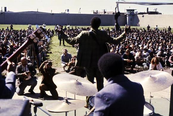 bb king tocando na prisão e gravação do disco Live in Cook County jail